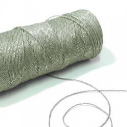 Κορδόνι Κερωμένο Μεταλλιζέ (~0.7mm) (~100 μέτρα/καρούλι)