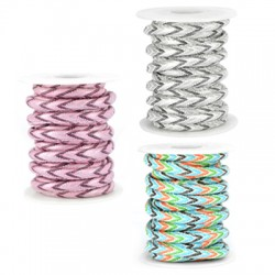 PU Stitched Cord 6mm