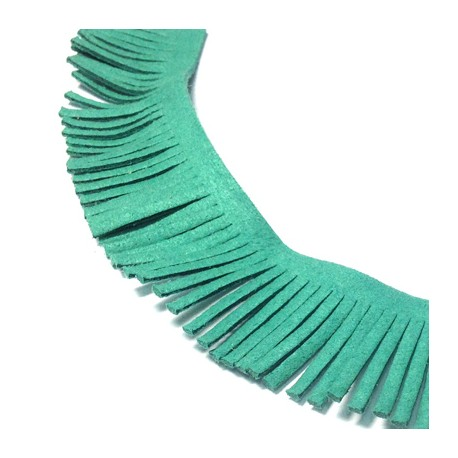 Artificial Suede Fringes 30mm (2 mtrs/spool)