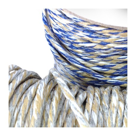 Cotton Braided Cord 2.5mm (~50mtrs/spool)