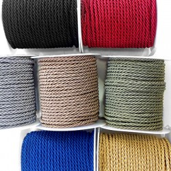 Cord Polyester Braided 2mm (25mtrs/spool)