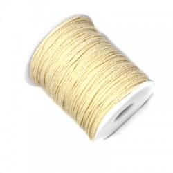 Βαμβακερό Κορδόνι Στρογγυλό Στριφτό 1mm (100μέτρα)