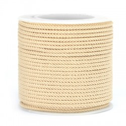 Polyester Braided Cord 2mm (~20mtrs/spool)