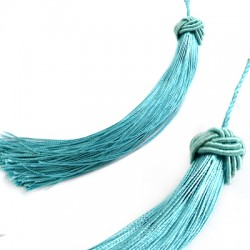 Polyester Tassel with Braided Cap (~330mm)