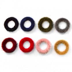 Fur Pendant Round 27mm