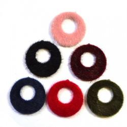 Fur Pendant Round 40mm