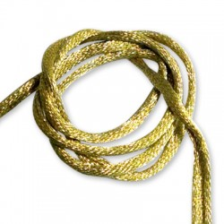 Fabric Cord 5mm (Wire inside. approx 9 yards / spool)