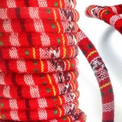 Cordon Ethnique Rond en Cotton, 6,5mm