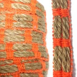 Hemp / Cotton Cord Flat 15mm