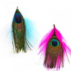 Feather Peacock ~90mm