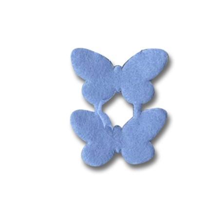 Felt Lace Butterfly 25mm