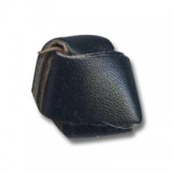 PU Leather Rhombus 22mm