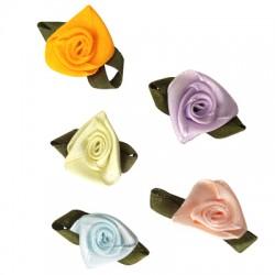 Υφασμάτινο Λουλούδι Τριαντάφυλλο