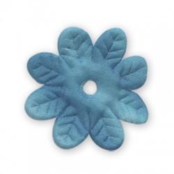 Υφασμάτινο Λουλούδι Πλακέ 35mm
