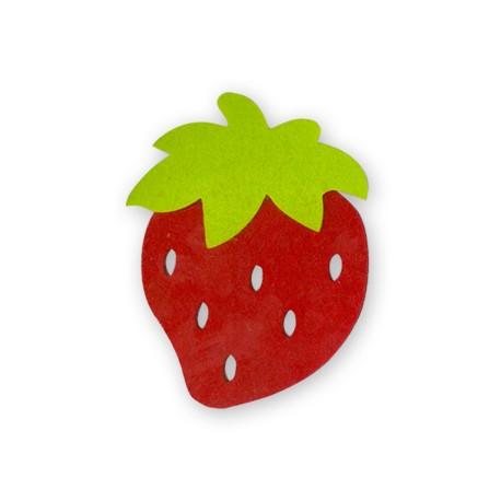 Felt Strawberry 30x35mm