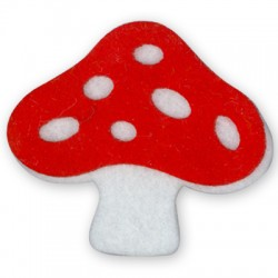 Felt Mushroom 54x50mm