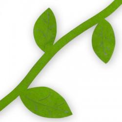 Τσόχα Κορδόνι με Φύλλα (1μέτρο)