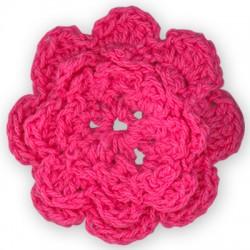 Μάλλινο Στοιχείο Λουλούδι 45mm