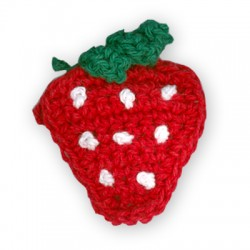 Woven Strawberry 35x45mm