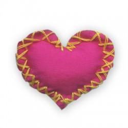 Fabric Heart 30mm
