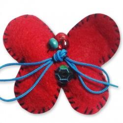 Farfalla di Lana 30x35mm
