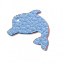 PU leather dolphin 30mm