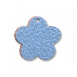 PU leather Flower 32mm