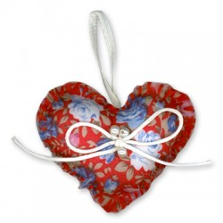 Fabric Heart 64mm