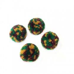 Πον Πον Συνθετικό Μάλλινο (~25mm)