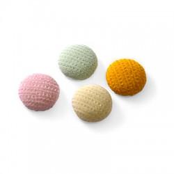 Fabric Round Button 15mm