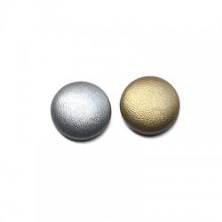 Fabric Button Round 15mm