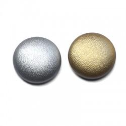 Fabric Button Round 20mm