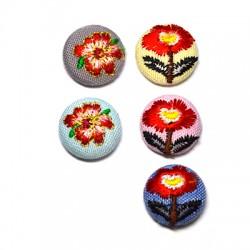 Fabric Round Button 17mm