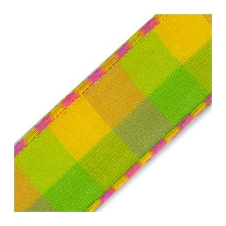 Plaid Ribbon 12mm