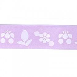 Κορδέλα Συνθετική με Λουλούδια 20mm