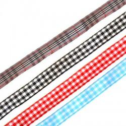 Plaid Ribbon 10mm
