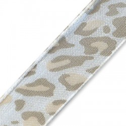 Nastro Stampato Leopardato 12mm
