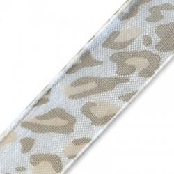 Organza Animal Print Ribbon 12mm