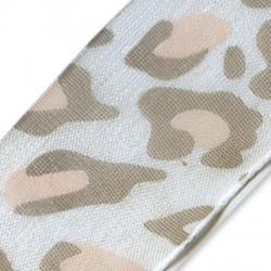 Nastro Stampato Leopardato 25mm
