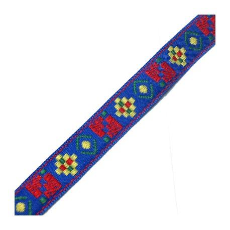 PL Knitted Ribbon w/ Geometric Shapes 14mm (10 mtrs / spool)