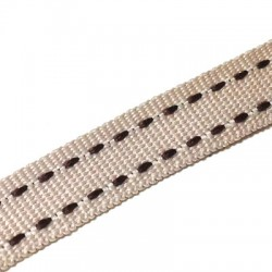 Ribbon Grosgrain Flat with Stitches 10mm