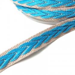 Ribbon Grosgrain Flat Ethnic 10mm