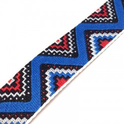 Polyester Ribbon Ethnic 20mm (~10yards/pack)