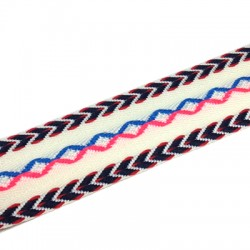 Polyester Ribbon Ethnic 28mm (~5yards/pack)