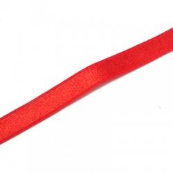 Lacet satin élastique 10mm (~10m/paquet)