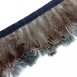 Ribbon Pheasant Feather ~40-60mm (~1mtr/pack)