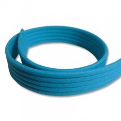 Velvet Coated Flat Rubber Cord 20x3.3mm