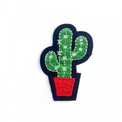 Applicazione Termoadesiva di Tela Cactus 35x51mm