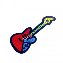 Thérmoadhésif Guitarre éléctrique 37x94mm