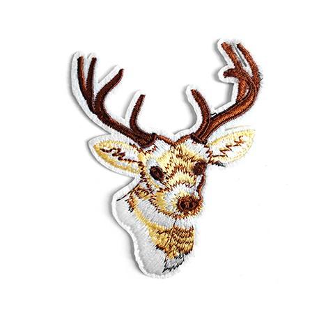Fabric Hotfix Deer 70x90mm